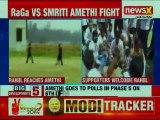 Rahul Gandhi Vs Smriti Irani in Amethi, Congress President's Massive Roadshow; Lok Sabha Polls 2019