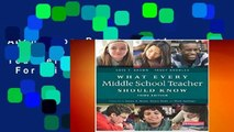 About For Books  What Every Middle School Teacher Should Know  For Kindle