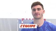 Fabregas «On va jouer dans une salle très chaude» - Handball - Euro 2020 (Q) - Bleus