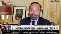 Édouard Philippe remporte le Prix de l'humour politique - ZAPPING ACTU DU 10/04/2019