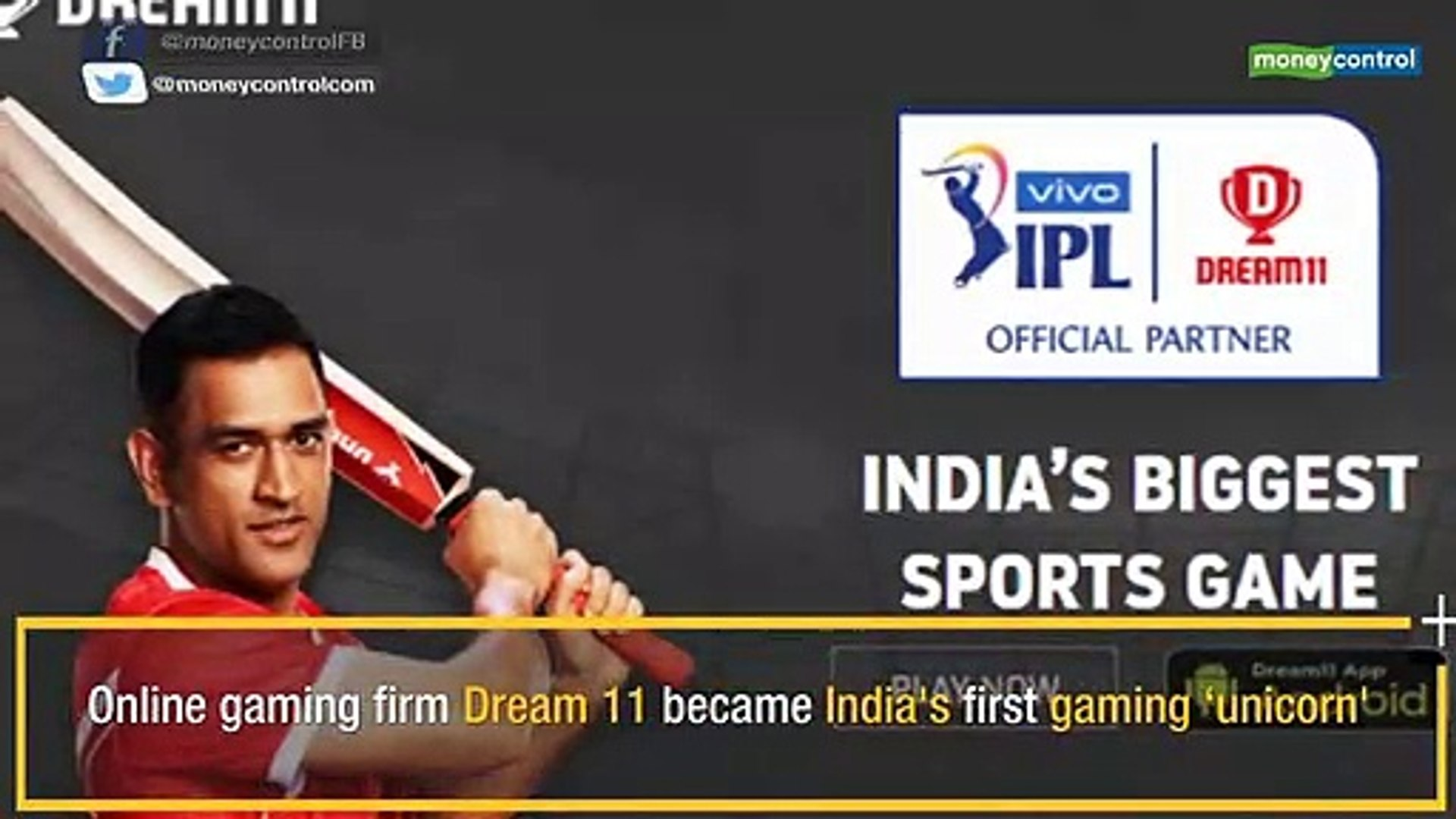 Dream11 is India's first gaming 'unicorn': How the fantasy gaming platform made it to