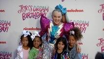 "JoJo Siwa, North West, Penelope Disick ""JoJo Siwa's 16th Birthday Party"" Purple Carpet"