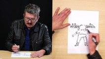"""Comment j'ai dessiné Marilyn Monroe dans """"Hollywood menteur"""", la leçon de dessin de Luz"""