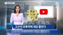 국세청, 유튜버 등 '신종 부자' 176명 세무조사 착수
