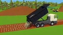 #Camion et pelle Excavatrice, Camion à benne et un Rouleau de Camions | Camions Rue Véhicules | Maszyny Budowlane