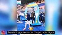 Strasbourg présente sa Coupe de la Ligue, Guendouzi tombe amoureux de Ramsey