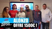 Alonzo offre 1500€ à un auditeur ! #MorningDeDifool