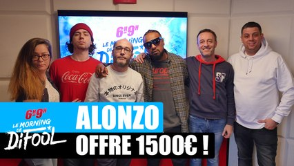 Alonzo offre 1500€ à un auditeur ! #MorningDeDifool