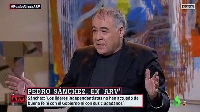 Pedro Sánchez responderá al indulto cuando se conozca la sentencia
