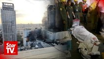 Fire at Bangkok shopping mall kills three, eight hurt