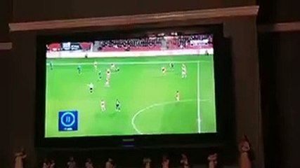 West Brom Fan Embarrassing Moment Caught Live on TV