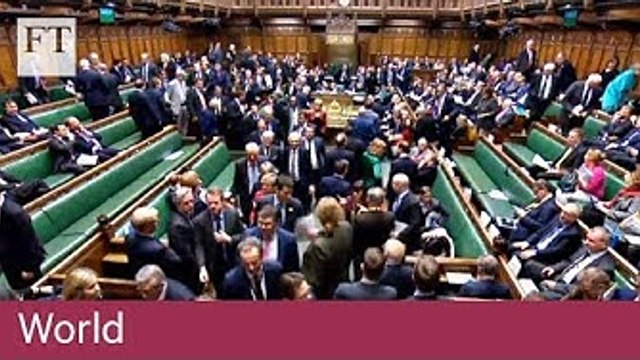 UK parliament votes to delay Brexit day