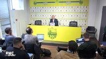 Nantes : Coach Vahid s'agace contre la presse… et refuse d'évoquer son avenir