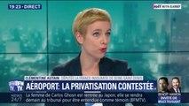"""Clémentine Autin(LFI): """"La privatisation d'ADP n'a aucune raison d'être, c'est une entreprise qui dégage de larges bénéfices"""""""