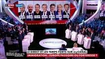 Débat des européennes : duel entre Cormand (EELV) et Dupont-Aignan sur l'immigration