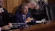Rand Paul Tells Pompeo: 'You Do Not Have The Permission' To Go To War With Iran