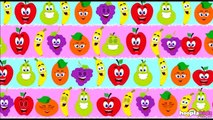 Famille des Doigts des Fruits et d'Autres Chansons pour les Enfants - Hooplakidz Français