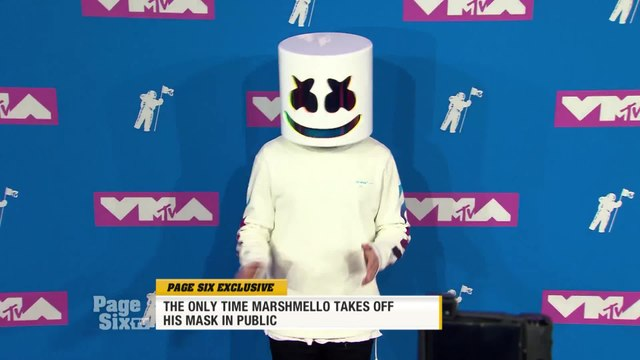 If you want to see @marshmellomusic with his mask off, you better take an @Uber! A Las Vegas driver told us that the DJ will take his mask off, but puts it back on before he gets out. We have the inside scoop on #PageSixTV!