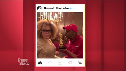 .@iamRuthECarter is already working on fittings for #ComingToAmerica2! Tune in to #PageSixTV for all the deets (including behind-the-scenes photos of #EddieMurphy and @arseniohall!)