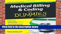 Medical Billing and Coding For Dummies, 2nd Edition  For Kindle