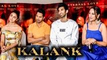 Varun Dhawan, Alia Bhatt, Sonakshi Sinha And Aditya Roy Kapur KALANK Promotions | FULL EVENT