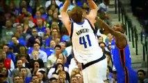 Les Spurs ont fait pleurer Dirk Nowitzki