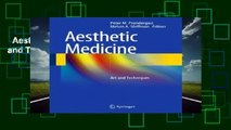 Aesthetic Medicine: Art and Techniques  For Kindle