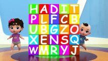 Kids Mike and Molly are making words of animal names from ABC cubes