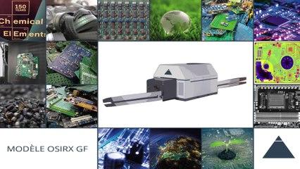 Projet OSIRX GF - Disruption dans le monde du recyclage