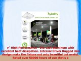 Hykolity LED Gas Station Canopy Light Surface Mount Internal Driver 150W Outdoor Rated