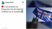 Brexit. Le Royaume-Uni et l'Union européenne s'accordent sur un report jusqu'au 31 octobre