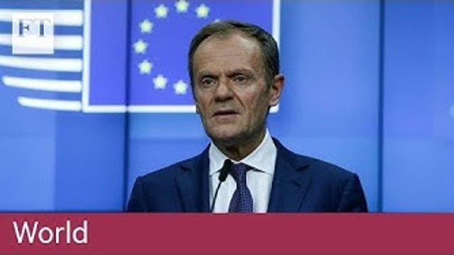 Donald Tusk pushes back Brexit cliff edge