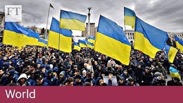 Ukraine's unpredictable three-way presidential race
