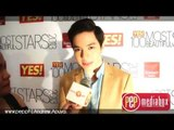 "Alden Richards keeps himself beautiful by ""thinking positive"" and getting 8 hours of sleep!"