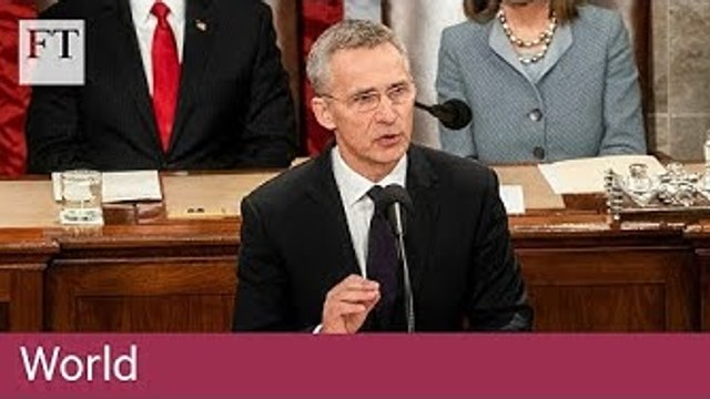 Nato's Stoltenberg says Russia is in violation of the INF Treaty