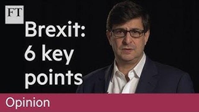 Brexit: six key points ahead of a decisive week