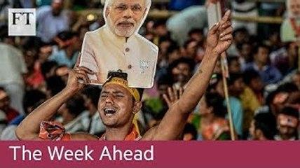 India and Israel elections, Tesco and JPMorgan results