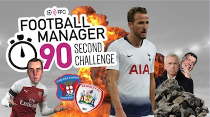 Watch: FM 90 Second Challenge | Would Spurs bottle an apocalypse?