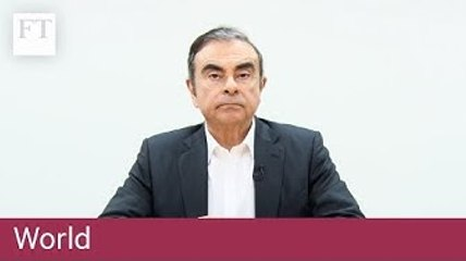 Carlos Ghosn talks