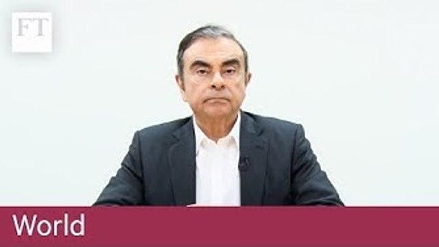 Carlos Ghosn talks