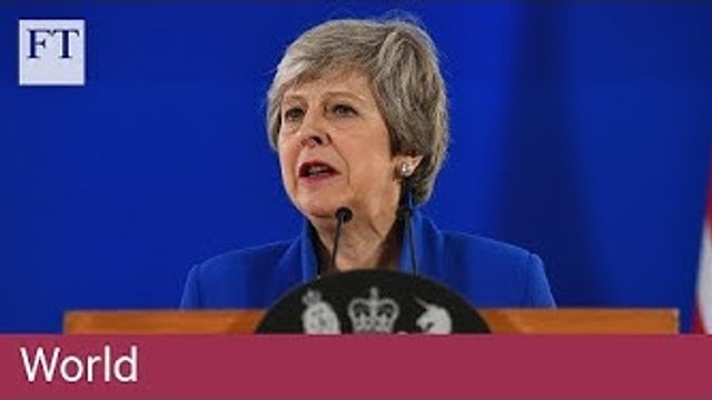 Theresa May granted Brexit delay until end of October