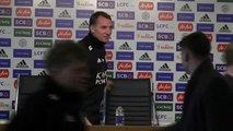 Rodgers looks ahead to facing Newcastle in Premier League clash