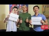 PEPtalk  The Padillas take the PEPtalk challenge  Ako Yan   Hindi Ako Yan