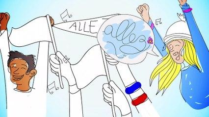 Découvrez les valeurs olympiques !