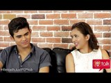 "PEPtalk. ""Relaks It's Just Pag-ibig"" stars Sofia Andres and Iñigo Pascual"