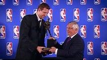 Basket-Ball - NBA - Dirk Nowitzki In Tears After Spurs Tribute Video! Final NBA Game