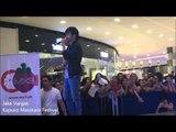 Jake Vargas sings for fans in Kapuso Masskara Festival show
