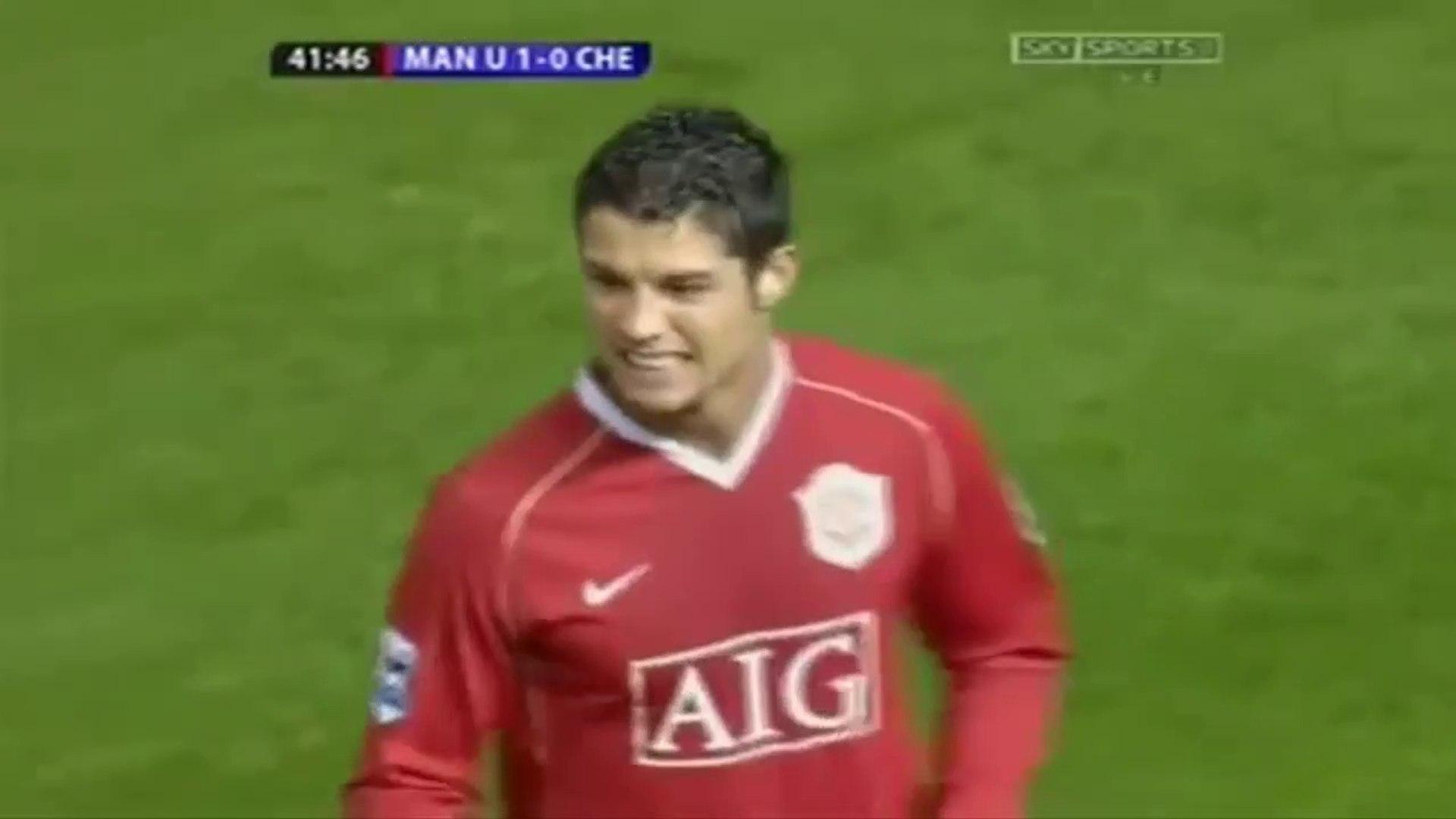 Cristiano Ronaldo ● Skills ● Manchester United 1:1 Chelsea ● Premier League 2006-07