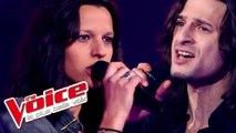 Prince - Purple Rain | Mister John Lewis VS Aude Henneville | The Voice France 2012 | Battle