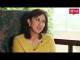Leni Robredo on PEP TALK.  Empowering women and farmers